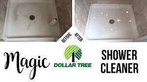 diy magic shower cleaner dollar tree cleaning