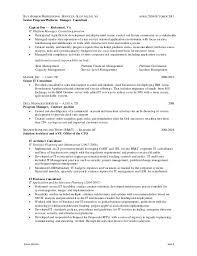 3 scrum master resume