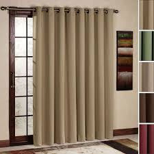 Brilliant Modern Curtains For Sliding Glass Doors On Design