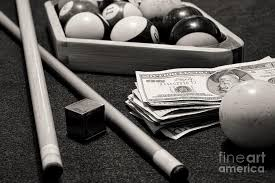 Exellent Billiards Black And White Ward Photograph Pool The Hustler Inside Design Decorating