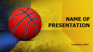 Basketball Powerpoint Template Romanian Basketball PowerPoint Template Background For 18