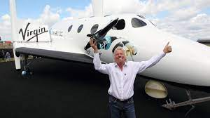 Richard Branson set for first space ...