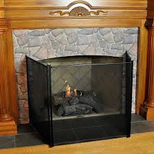 gas fireplace child safety screen for awesome fireplace guard for toddlers