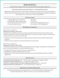 Electrician Job Description For Resume Network Technician Resume Sles Avionics Template Aviation 24