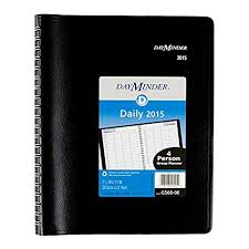 Daily Appointment Book 2015 High Quality At A Glance Four Person Daily Appointment Book 2015