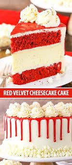 Red Velvet Cheesecake Cake Recipe Classic Red Velvet Recipe