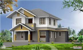 2100 square feet 5 bedroom home elevation kerala home house plan