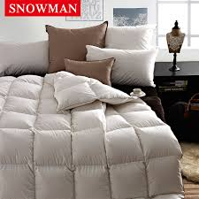 get ations snowman adams norman 90 white eiderdown duvet core duvet winter is cotton fabric multicolor