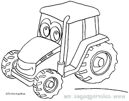 Tractor Coloring Pages To Print John Tractor Coloring Page Pages