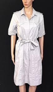 david lawrence dark beige shirt dress 4 pockets sz 12 rp 189 00
