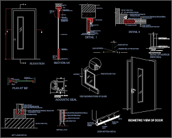 28 collection of aluminium door sections drawing high quality