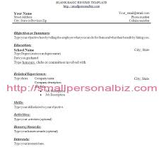 Sample College Student Resume No Work Experience