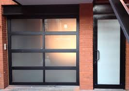 Exterior Frosted Glass Garage Doors Cost Exquisite On Exterior Door