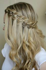 Hairstyle Waterfall 10 pretty waterfall french braid hairstyles different hairstyle 3528 by stevesalt.us