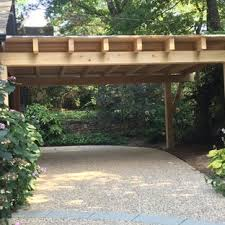 Replacing a carport with a garage set below ground level enhanced this home on three fronts. 75 Beautiful Carport Pictures Ideas April 2021 Houzz