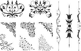 Swirl Design Co Floral Corners Swirl Free Vector Download In Cdr Cdr
