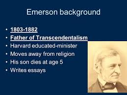 american literature transcendentalism ppt video online emerson background 1803 1882 father of transcendentalism