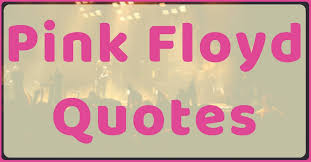Pink Floyd Quotes Stunning Pink Floyd Quotes Top 48