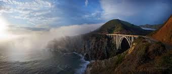 bixby bridge and fog winston boyer gallery sur
