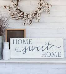 Home Sweet Home, Rustic Wood Sign, Rustic Wall Decor, French Country Decor,  X By CherieKaySigns On Etsy