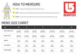 Men S Snowboard Length Chart Snowboard Boots Burton Size Chart