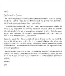 Free Letter Of Recommendation Template For College High School Recommendation Letter Template Free Word Inside