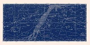 Amazon Com Constellation Map And Star Chart Handmade