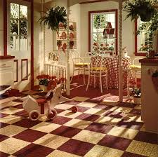 White And Red Kitchen 1974 Red And White Kitchen Retro Renovation