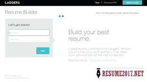 Top Resume Builder Classy Top Resume Builders Ladders Resume Builder Top 48 Resume Writing