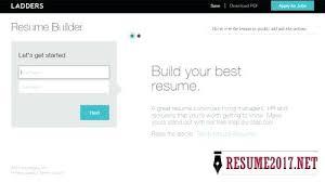 Top Resume Builder Classy Top Resume Builders Ladders Resume Builder Top 48 Resume Writing