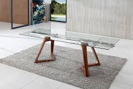 extended glass dining table. dining tables, amusing gray rectangle modern glass extendable table varnised ideas: awesome extended o