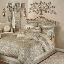 grandeur fleur de lis damask comforter bedding