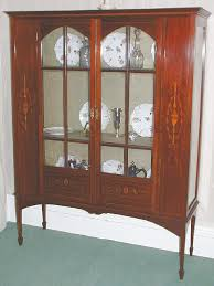 english antique display cabinet. Enlarge Photo English Antique Display Cabinet
