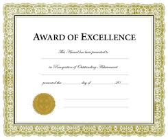 remarkable award certificate template word ideas examples