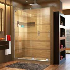 semi frameless shower doors. Mirage-X 56 In. To 60 X 72 Semi- Semi Frameless Shower Doors