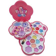 makeup kits for little girls. petite girls play cosmetics set fashion makeup kit for kids ($11) ❤ liked on kits little a
