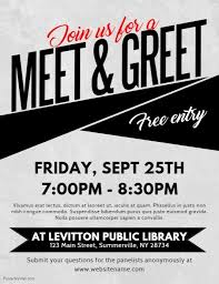 Meet And Greet Flyers Templates 320 Customizable Design Templates For Meeting