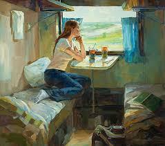 Галерея Арт Владивосток › Дальневосточная Государственная  Мячкина Т В Дипломная работа Утренний чай