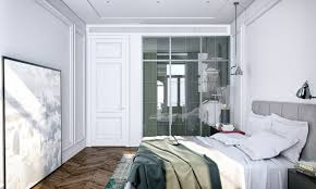 Modern Classic Bedroom Modern Decor Meets Classical Features In Two Transitional Home Designs