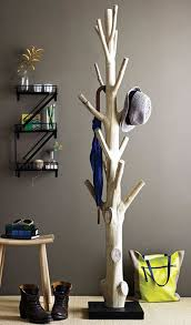 Used Coat Racks Tree Coat Rack After a storm knocked down a tree I used it instead 90