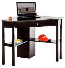 teknik cinnamon cherry 1167mm corner computer desk