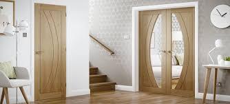 internal oak rno rebated door pair