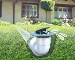 pop up drain emitters