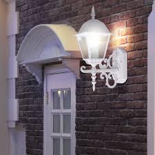Meinelampe Landhaus Stil Wandlampe In Weiß Für Den Außenbereich Vt 760