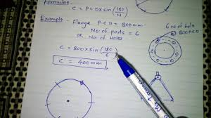 Flange Od Id Pcd Chart How To Bolt Hole Mark On Flanges Used In Fabrication