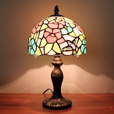 european style garden bird small bedside lamp bedroom lamp table tiffany bedside lamps