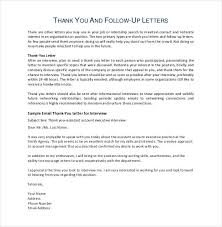 Follow Up Letter After Resume The 25 Best Thank You Interview Ideas