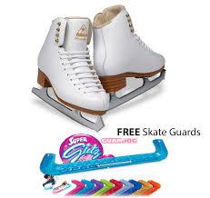 Jackson Ice Skates Freestyle Ladies Dj2190 Free Skate Guards