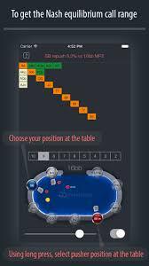 Poker Chart A Professional Nash Equilibrium Push Fold Chart