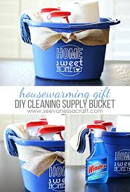 housewarming party gift ideas gifts vinyl cleaning bucket housewarming gift idea return gift ideas for housewarming